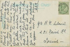 "GB VILLAGE POSTMARKS ""KIDLINGTON"" (Oxfordshire) Thimble 20mm 1909 POSTMARK-ERROR"