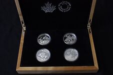 2015 Canada North American Sportfish 4 Coin $20 Silver Proof Set