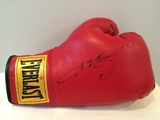 Autographed Hand Signed Everlast Boxing Glove Sugar Ray Leonard Rare HOF Mint!