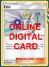 4X Faba 173/214 Lost Thunder Pokemon TCG Online Digital Card