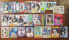lot (63) RICKEY HENDERSON baseball card ATHELTICS Yankees RECORD INSERT Jimmy ++