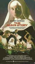 The Nun's Story (VHS TAPE) AUDREY HEPBURN DEAN JAGGER HTF FREE SHIPPING
