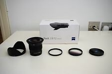 Zeiss Touit 12mm f2.8 e Lente-Sony E-Mount-Più 2 FILTRI