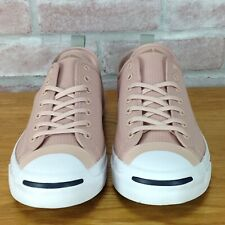 Converse Jack Purcell Skate-Shoes Mens 12 Canvas Low-Top Double-Toe Beige Green