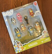 "Bluey's Family and Friends 2.5"" Figures - 8 Pack Chartacters Bluey"