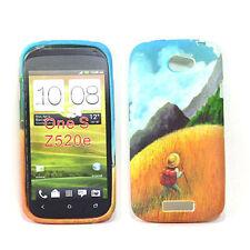 HTC One S Soft Gel Case - Flower 5