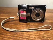 Sanyo Digital Camera VPC-S650 6.0 MP Digital Camera - Black