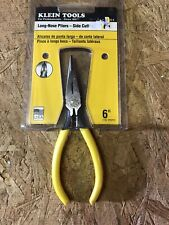 KLEIN Long Nose Pliers - New USA 6""