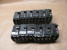 12- Square D Qo220 2 Pole 20 Amp 240V Breakers