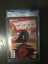WONDER WOMAN # 4 / The new 52! / CGC Universal 9.8 / DC / February 2012