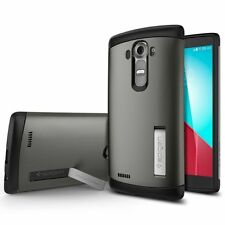 Spigen Slim Armor - To Suit LG G4 - Gunmetal