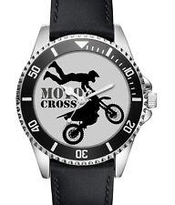 Motocross Enduro Biker Geschenk Fan Artikel Zubehör Fanartikel Uhr L-2722