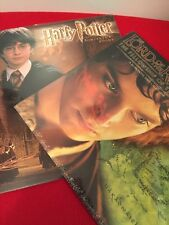 NEW 2002 Vtg HARRY POTTER & THE LORD OF THE RINGS Calenders LOT of 2 Sealed!!!