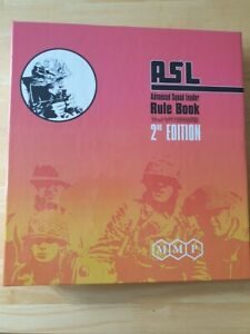 ASL Advanced Squad Leader Rules 2nd Edition - BINDER ONLY