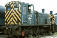PHOTO  CLASS 03 LOCO NO 03112 - 03084 AT MARCH DEPOT 1987