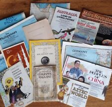 Collection of NATIONAL GEOGRAPHIC memorabilia, 1915 Miniatures and Much More