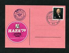 """Berlin Nr. 353 EF """"Hafa 70 Ausstellung""""  (EB-9)"""