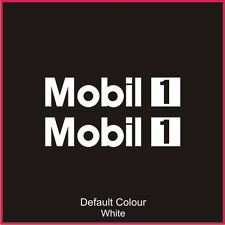 Mobil 1 Decals x2, Vinyl, Sticker, Graphics,Car, Brakes, Racing, Stack,N2072