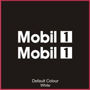 Mobil 1 Decals x2, Vinyl, Sticker, Graphics,Car, Brakes, Racing, Stack,N2072
