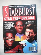 STARBURST Star Trek Special #25 - Tank Girl, Sliders, Seaquest, Congo,