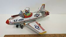1960's NOMURA - Toy XF-160 Mystery Action Plane - Very Nice Original Condition