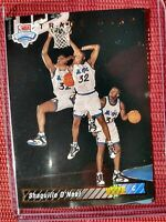 1993 Upper Deck Shaquille O'Neal Orlando Magic #1 NBA DRAFT PICK RC ROOKIE 1b