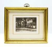 Leonard H. Mersky Pencil Signed Etching –Martha's Vineyard Ma. 30/200
