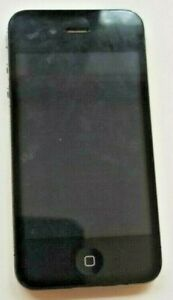 Apple iPhone 4 - 8GB - PARTS ONLY Black (AT&T) A133. Cracked Casing.