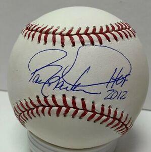 Reds WS Champ BARRY LARKIN Signed Official MLB Baseball AUTO w/ HOF 2012 - JSA