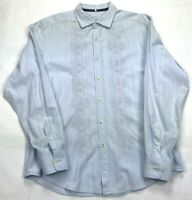 Mens Tommy Bahama Denim Long Sleeve Button Down Shirt SIZE L