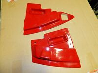1967 Corvette Radio Side Covers Extensions Dash Console GM Midyear C2
