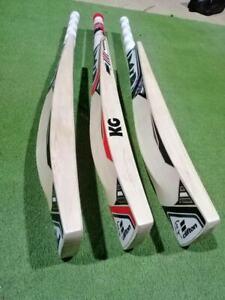 Cricket Bat KG Leather Hard Ball English Willow Full Grain Limited Edition Bats