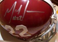 Mark Ingram signed autographed 2009 Alabama Crimson Tide #22 Riddell mini helmet