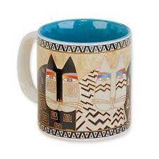 Laurel Burch Artistic Museum Cat Mug ~ Wild Cats #Lbm317 New, Gift Box