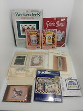 Counted Cross Stitch Kit & Chart Lot Of 9  New