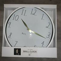 "RAE DUNN Artisan Collection 14"" x 14"" Large Wall Clock By Magenta NEW Modern"