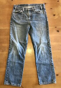 Vintage Levis 40509-0214 USA made Jeans Men's W34 L30 Orange Tab