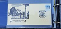 COLONIAL GEORGE STREET BRISBANE STAGE COACH SOUVENIR COVER WITH SPECIAL PMK