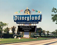 Personalized Disneyland Marquee Photo 8x10 Mickey