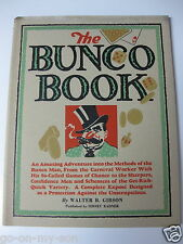 Bunco Book 1946 Walter B. Gibson Cheaters Con Artists Scams Spiral Bound Casino