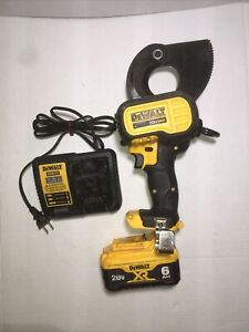 DeWalt DCE150 20V MAX Cable Cutting Tool with Battery 6AH and Charger