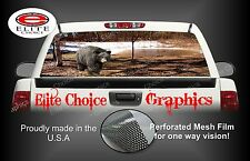 Black bear Rear Window Graphic Decal Sticker Truck Van Car SUV