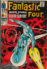 Fantastic Four 72 Silver Surfer Galactus Movie! VF to VF+ (8.0-8.5) Marvel Key