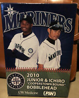 Ichiro Ken Griffey Jr Junior Cooperstown Bound Seattle Mariners 2010 Bobblehead