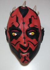 Darth Maul Lucasfilm Star Wars Phantom Menace Mens Halloween Latex Mask Costume