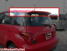 ABS Plastic Unpainted OE Style Rear Spoiler Wing+Brake Light for Scion 04-06 XA