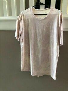 Men's XL Lululemon Fundamental T Shirt Pink Tie Dye - Nice!