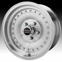 American Racing AR61 Outlaw I Machined 15x7 5x4.5 -6mm (AR615765)