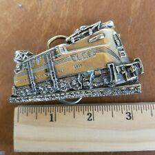 Vintage Locomotive Belt Buckle, Altoona Works, 1983, Made In Usa