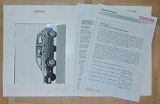 Toyota Corolla Pressemappe 1989 press information Nr4 Auto PKWs Japan Asien Asia